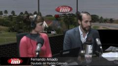 """Fernando Amado: """"Si defender las cosas buenas para el país es ser traidor, soy traidor�"""