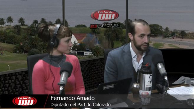"""Fernando Amado: """"Si defender las cosas buenas para el país es ser traidor, soy traidor"""""""