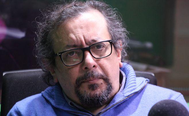 Óscar Larroca, artista plástico. Foto: Julieta Añon/ El Espectador
