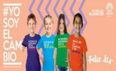 """ONU Mujeres y Costa Urbana Shopping presentan """"Remeras de la Igualdad�"""