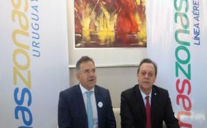 Amaszonas hizo historia con la inauguración de dos nuevas rutas internacionales