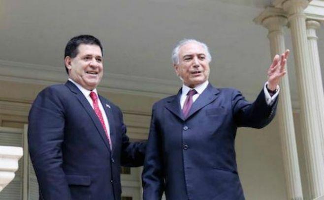 Venezuela rechaza declaraciones injerencistas de Cartes y Temer