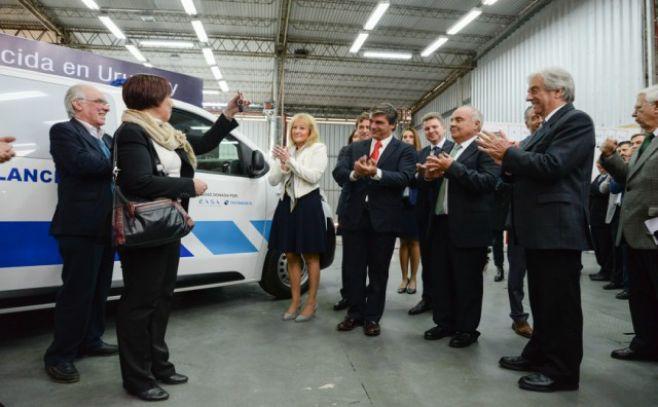 Grupo PSA, EASA y Nordex S.A. presentaron planta de ensamblaje de CITROËN y PEUGEOT EXPERT
