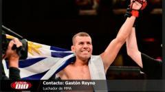 """Gastón Reyno: """"En 2018 peleo seguro en Uruguay"""""""
