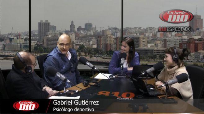 """Gabriel Gutiérrez: """"El 99,86% de los futbolistas uruguayos no llega a triunfar"""""""