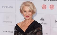 """Helen Mirren brilló y emocionó en Venecia con """"The Leisure Seeker"""""""