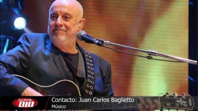 "Baglietto presenta ""Historias de Voz"" junto a Jairo"