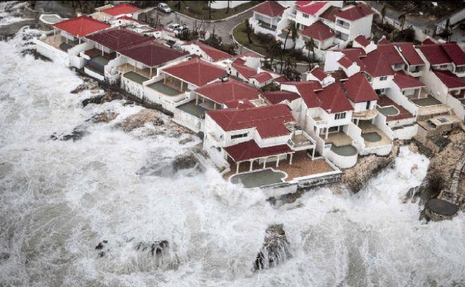 Paso de Irma por las antillas francesas dejó nueve muertos y siete desaparecidos. EFE