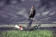 El huracán Raúl