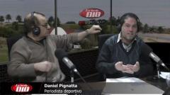 """Pignatta: """"Si el clásico tiene un favorito, ése es Peñarol""""."""