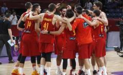 España y Eslovenia en Semifinales