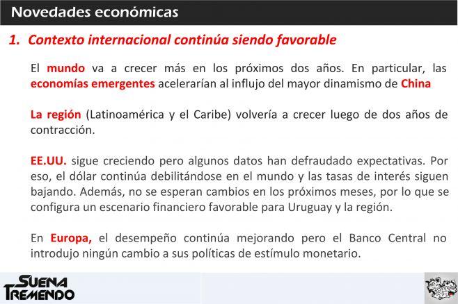 Novedades económicas: un repaso del escenario internacional