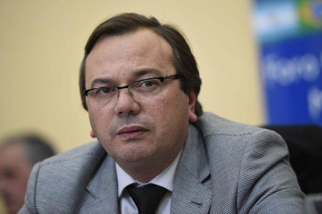 José Luis Falero, intendente de San José. Foto: Nicolás Celaya/adhoc