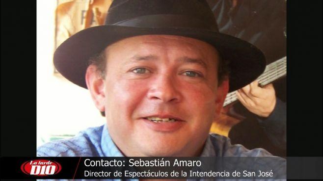 """Sebastian Amaro: """"La feria del libro es un evento con mucho prestigio nacional e internacional""""."""