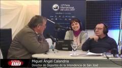 """Miguel Angel Calandria: """"El desafío mayor es contar definitivamente con el Multideportivo�"""