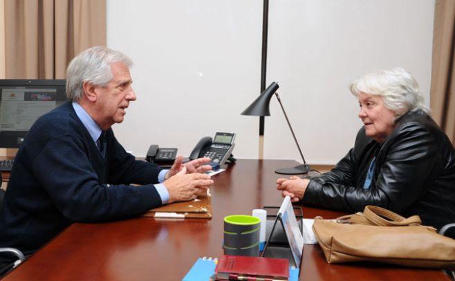 Tras reunión con Vázquez, Topolansky comienza a armar su agenda de trabajo