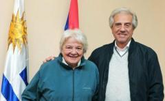 Topolansky asume Presidencia interina por viaje de Vázquez a ONU