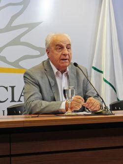 Víctor Rossi, ministro de Transporte y Obras Públicas. Foto: www.presidencia.gub.uy