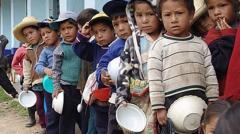 Hambre y pobreza en el mundo