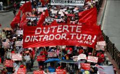 Duterte, villano y héroe de esta jornada de protestas en Filipinas