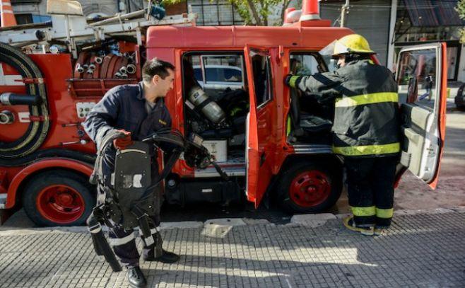 Murió un hombre en incendio de local en la Galería del Entrevero