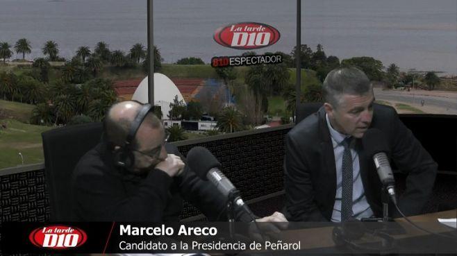 """Marcelo Areco: """"Peñarol está muy lejos de los resultados deportivos que queremos"""""""