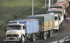 Baja del 10% en el área de arroz repercute en el transporte