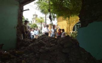 Tres uruguayas damnificadas con la pérdida de sus viviendas en México
