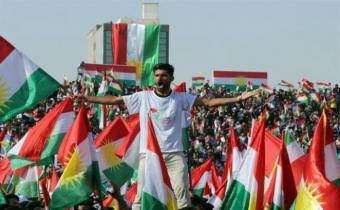 Ciudadanos de capital kurda quieren el sí a independencia
