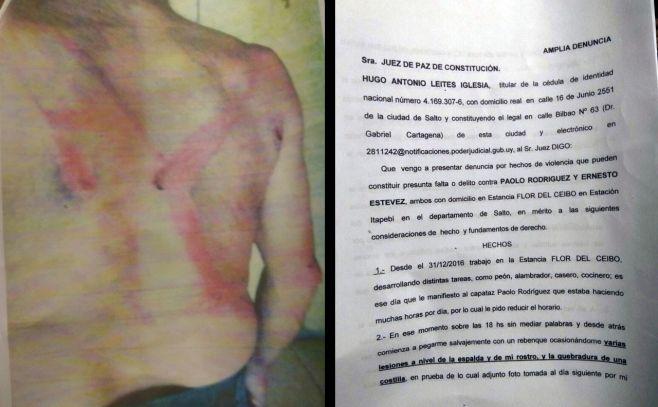 """Agresiones a peones rurales """"se repiten sistemáticamente"""" según sindicato"""