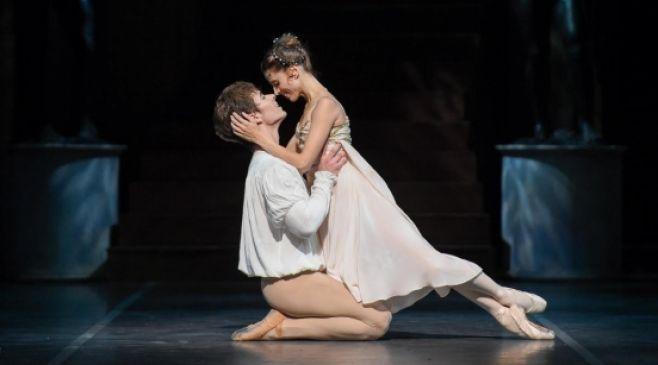 Romeo y Julieta. María Noel Riccetto y Gustavo Carvalho en Oír con los ojos.