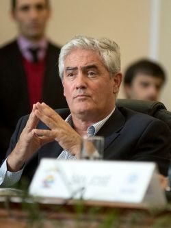 Agustín Bascou, intendente de Soriano. Foto: Ricardo Antúnez/ adhoc