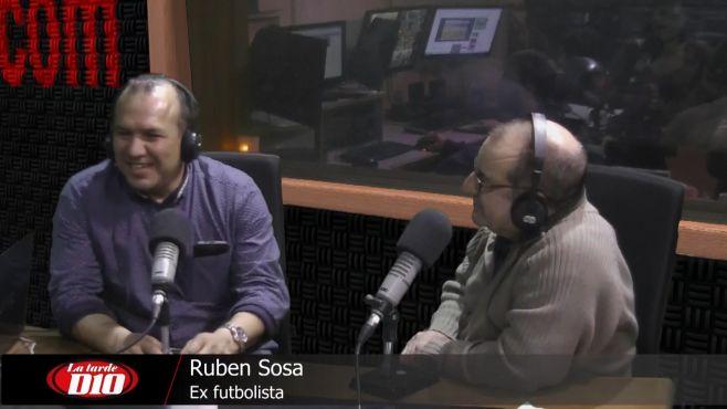 """Rubén Sosa: """"Acá tenemos pasión y genética, el fútbol lo llevamos en el ADN"""""""
