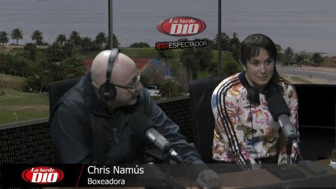 """Chris Namús: """"Ser mujer y ser boxeadora es totalmente compatible"""""""