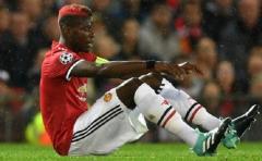"""La lesión de Pogba es de """"larga duración"""", según Mourinho"""