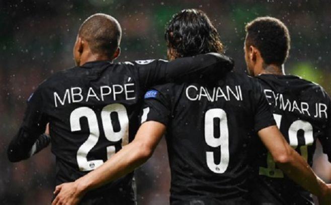 """La mejor media goleadora de Europa es del """"MCN"""" del París Saint-Germain"""