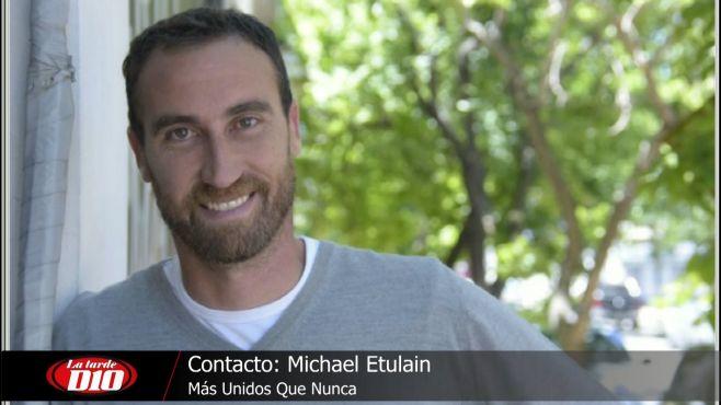 """Michael Etulain: """"No descartamos un paro de jugadores de fútbol"""""""