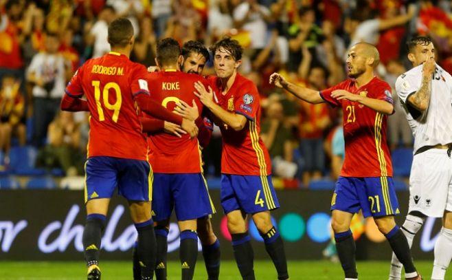España, al Mundial; Islandia y Serbia, a un paso