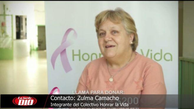 """Fundación """"Honrar la Vida"""" presenta actividad por mes del cáncer de mama"""