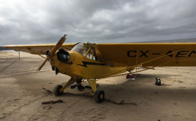 Continúa la búsqueda de piloto chileno tras caída de avioneta en Uruguay