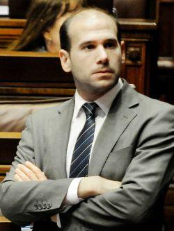 Martín Lema, diputado del Partido Nacional. Foto: Javier Calvelo / adhoc