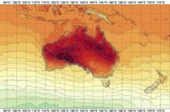 Australia registra temperaturas récord en primavera