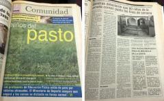 """Maestras del barrio Conciliación intentaron desmentir la historia de """"niños del pasto�"""