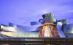 Proyectarán sobre el Guggenheim Bilbao 1,2 millones de lúmenes de luz