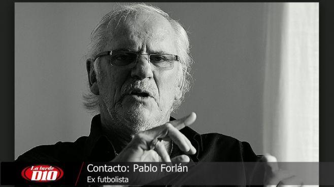 """Pablo Forlán: """"La vida le dió al Maestro otra oportunidad"""""""