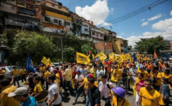 Venezuela oposición pide desatar un