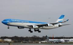 Vuelos de Aerolíneas Argentinas afectados por protesta sindical
