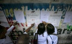 Votación en Venezuela para la elección de gobernadores