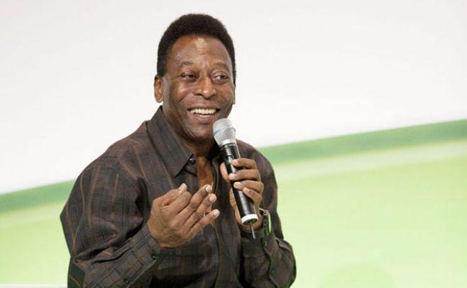 """Se presentó en Brasil """"Pelé, el nacimiento de una leyenda"""" sin el ex jugador"""