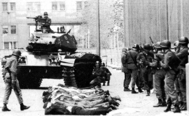 Dictadura militar en Chile.. Efe